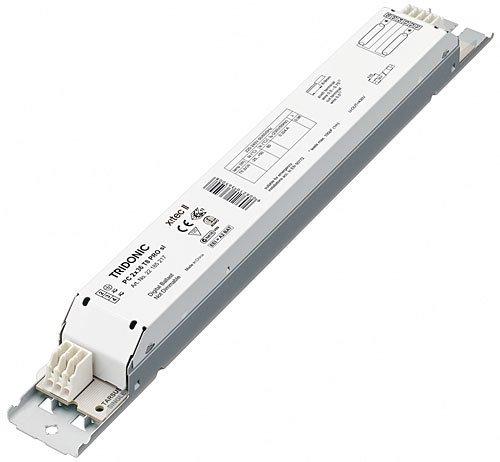 Tridonic PC 2x 18T8PRO LP Vorschaltgerät [läuft 2x 18W 2ft T8Leuchtstoffröhren] (Tridonic 22185216) (2ft Vorschaltgerät)