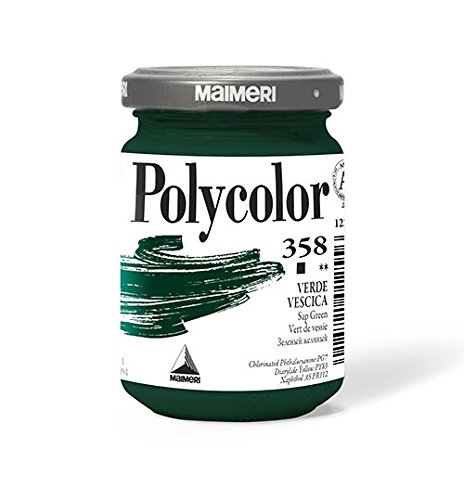 Memotak Maimeri Polycolor Vasetto 140 ml. Verde Vescica