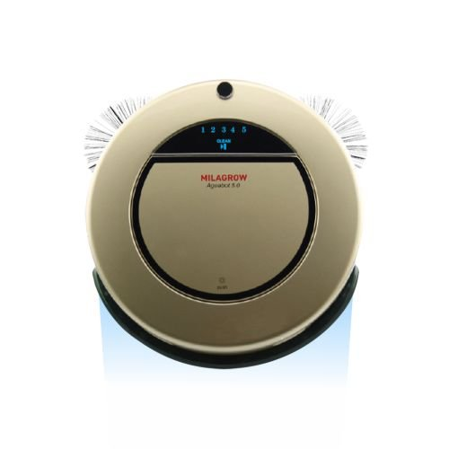 Milagrow Aguabot 5.0 - India's 1st Full Wet & Dry Floor Mopping Robotic Vacuum Cleaner  available at amazon for Rs.19194