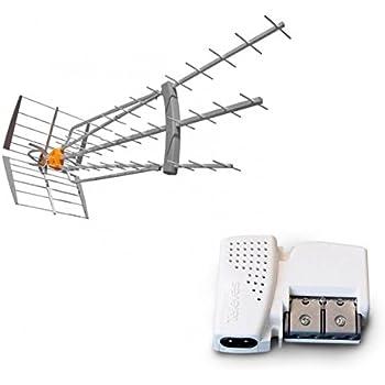 Televes Antenne Kit Boss 790 Hd Lte Et Filtre Après Mrd