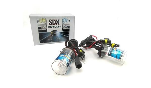 6000K H4 Dual-Beam Bi-Xenon SDX HID Xenon DC Headlight Replacement Bulbs