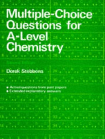 Multiple-Choice Questions for A-level Chemistry (2nd Edition) PDF Books