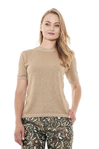 Max Mara Damen T-Shirt, einfarbig beige beige X-Large