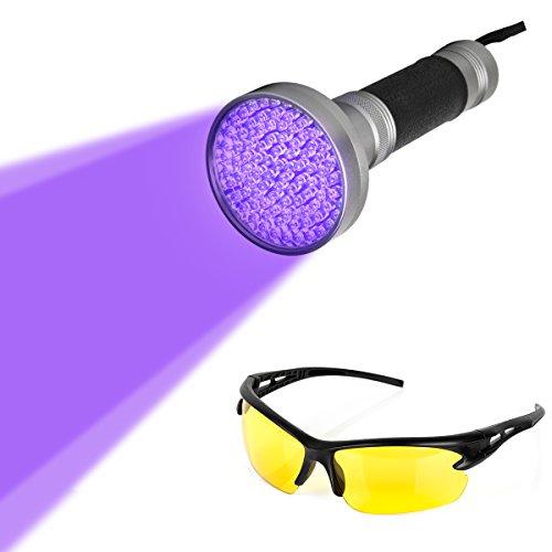 100-led-uv-ultravioletto-nero-luce-della-torcia-elettrica-ritrovamenti-di-animali-macchie-di-urina-d