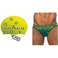 BBOSI Bañador Natacion Waterpolo Hombre niño Australia Triatlon