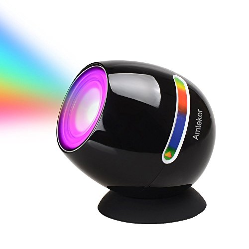 Amteker Living 256 Colors LED Light, Touch Pad