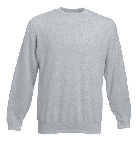 Fruit Of The Loom - Sweatshirt - Homme (L) (Gris)