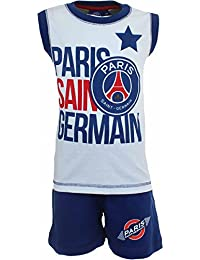 Paris Saint Germain Garçon Ensemble Short et T-shirt