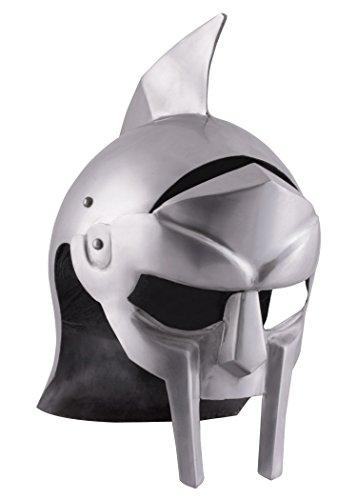Gladiatoren Helm Maximus aus Stahl - Griechen - Römer - Gladiator - LARP - Antike