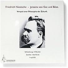 Jenseits von Gut und Böse. Volltextlesung von Axel Grube, 1 mp3-CD in handgefertigter Papphülle (Bibliophile Hörbuch-Edition)