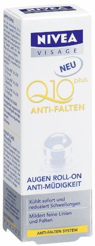 Nivea Visage Q10 Anti-Falten Augen Roll-On Anti-Müdigkeit, 10 ml