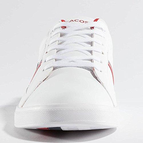 Lacoste - Europe - Sneaker Da Uomo - Scarpe Blu In Bianco Oversize