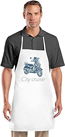 City cruiser Les cuisiniers tablier Top Quality Chef's Apron| Custom