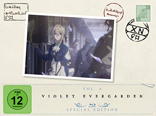 Violet Evergarden - St. 1 - Vol. 4 [Blu-ray] [Special Edition] (Violett Absolute)