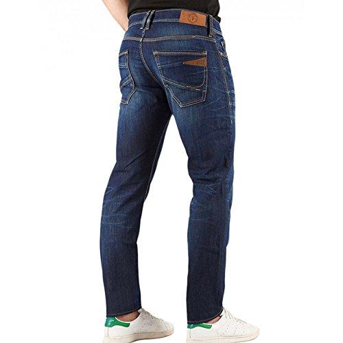 Le Temps Des Cerises - Jeans Le Temps Des Cerises 711 Basic WJL08 Bleu