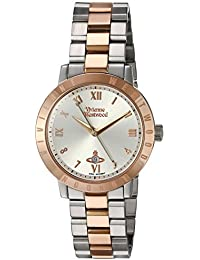 Vivienne Westwood Bloomsbury Women's Quartz Watch with Silver Dial Analogue Display and Two Tone Stainless Steel Bracelet VV152RSSL