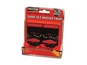 Pest-Stop Piège à souris en plastique