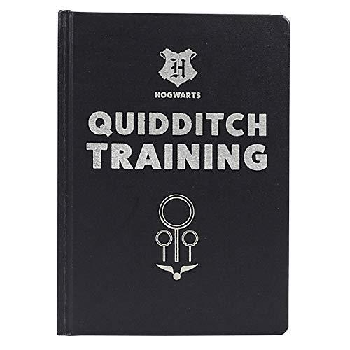 Harry Potter Quidditch-Trainingstagebuch A5 Hardcover Papier Notizblock Hogwarts