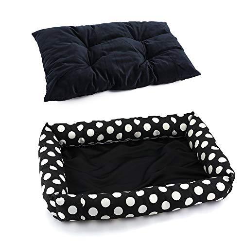 Yukiko Luminous Puppy Pets Dog Cat Bed House Warm Soft Dog Nest Mat Kennel B-005-WD -