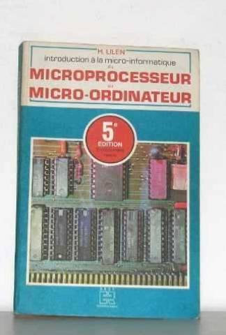 Du microprocesseur au micro-ordinateur