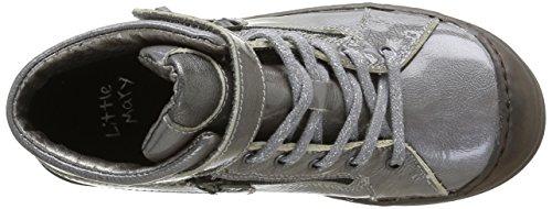 Little Mary Alouette, Cheville Chaussures Lacées Fille Gris (Apache Cendre)