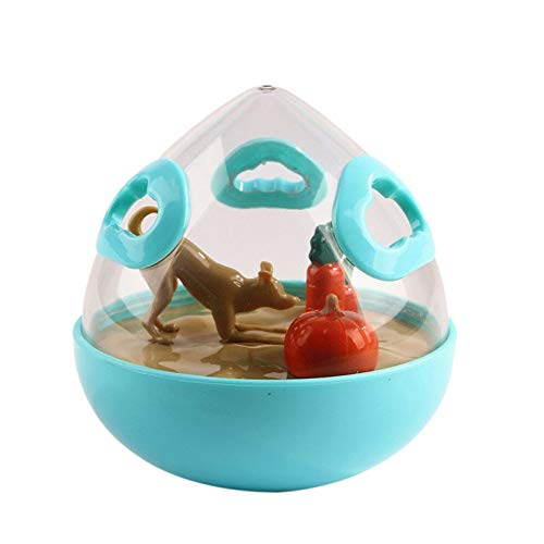 Dog Feeding - Pet Dogs Ball Toys Feeders Balls Food Dispenser Toy Shaking Training Feeder Interactive Treat - Bowls Games Carpet Eating Dishes Dish Large Ball Gloves Extra Medium Eaters Fe -