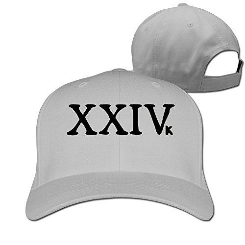 Men's Unisex Bruno Mars Teases New Single 24K Magic Rock Cap Unisex Snapback Hats (Bruno Mars Hat)