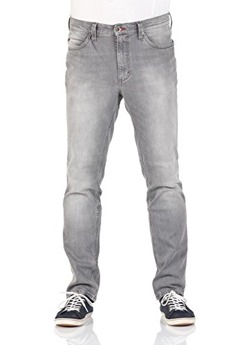 Mustang Herren Jeans Tramper - Tapered Fit - Blau - Tinted Rinse Washed Tinted Rinse Wash (485)