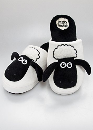 Shaun the Sheep Adult Mule Slippers 5 - 7