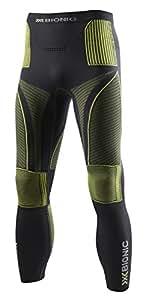 X-Bionic Erwachsene Funktionsbekleidung Man Acc Evo UW Pants Long, Charcoal/Yellow, S/M, I020223