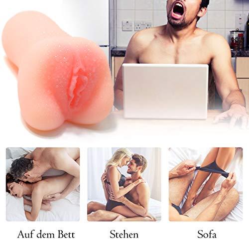 Masturbador masculino Nabni 3D Realista masturbación vagina juguetes sexuales para hombres Pocket Pussy Pocket Pussy Masturbate Realistic Pussy Manual Cup