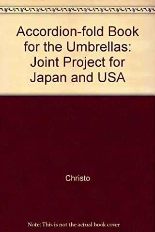 Accordion-fold Book for the Umbrellas: Joint Project for Japan and USA