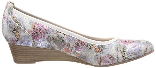 Tamaris Women 22304 Pumps Multicolour (flower Comb)