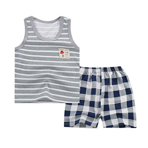 ARAUS ARAUS Baby Unisex Kleidungset Unterhemd + Shorts Sommer Outfits 0,5-5 Jahre alt