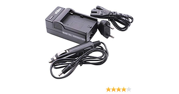 Caricabatteria da auto per SONY DSLR D-SLR A100 A700 A900 RETE