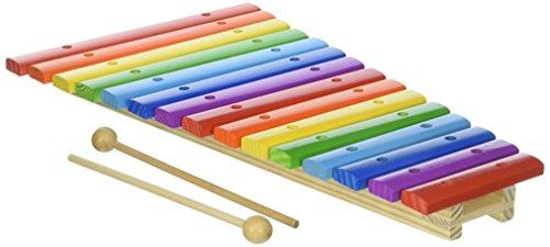 15 Noten Xylophon aus Holz - 15-Note Xylophone Holzspielzeug Musikinstrument