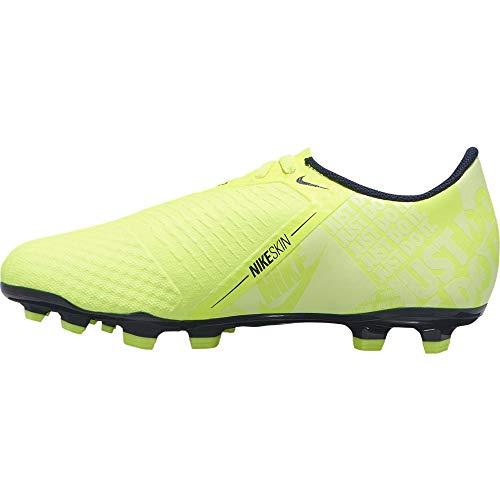 Nike Unisex-Kinder JR Phantom Venom Academy FG Fußballschuhe, Grün (Volt/Obsidian/Volt 717), 36 EU