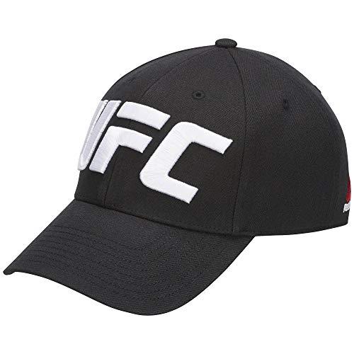 Reebok Herren UFC Baseball Cap Kappe, Schwarz, Einheitsgröße -