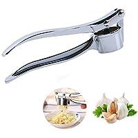 niceeshop(TM) Plata Picador Prensa Prensador de Ajos de aleación de zinc para Utensilio de Cocina