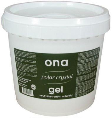 4l Crystal (Ona Gel Polar Crystal 4L Geruchsneutralisierer inkl. Cultivalley Wuchs Dünger 100g)