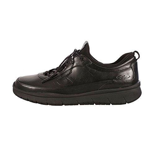 Mephisto Maniko C.Leather 1 Black, Baskets Basses Homme Schwarz
