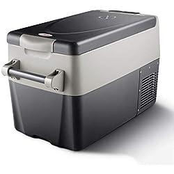ADHW Glacière Électrique Portable Équipée,12v 240v Réfrigérateur 32 pte Polypropylène avec Compresseur Haute Réfrigération Frigo en Dessous de la Température Ambiante 18 ° C