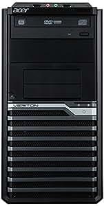 Acer Veriton M6630 Unité centrale Noir (Intel Core i7, 4 Go de RAM, 500 Go, AMD Radeon, Windows 8 pro)
