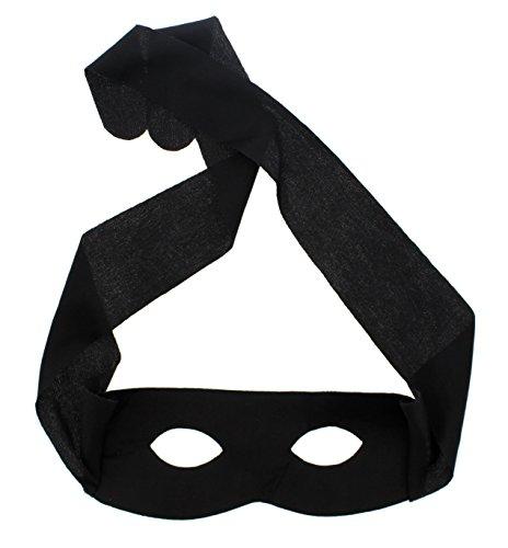Zacs Alter Ego - Superheld / Dieb Maske - (Superhelden Alter Ego Kostüm)