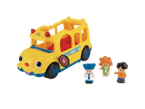 People-spielzeug-bus Little (Mattel Fisher-Price J0894 - Little People Schulbus)