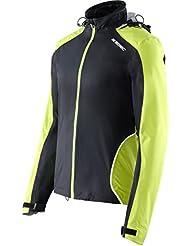 X-Bionic adultos en función de la ropa Running Man Symframe OW Jacket Varios colores Black/Green Lime Talla:small