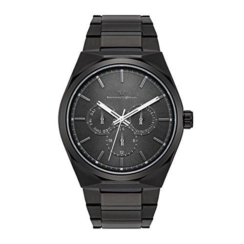 Rhodenwald & Söhne - Cooledge Men's Watch Multifunktion - Bracelet Stainless steel - IPBLK 5 ATM - 10010218