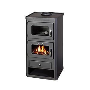 Estufa de leña horno cocina chimenea quemador de leña Combustible Sólido Norma ft 10kW