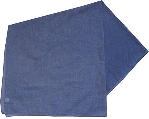Baumwolltuch in vielen Farben 100 x 100 cm, Größen:Einheitsgröße, Farben:jeans meliert (Denim Tuch, Jeans Herren)