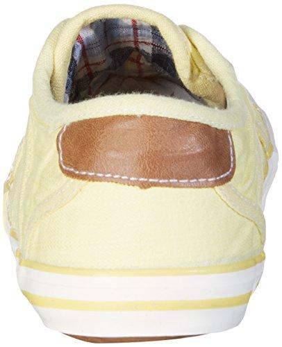 Mustang Slipper - Pantofole a casa unisex Giallo (Gelb (pastellgelb 610))